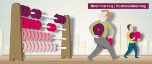 Illustration Benchmarking Kostenoptimierung