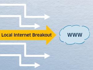 Lokale Internet Breakouts im WAN