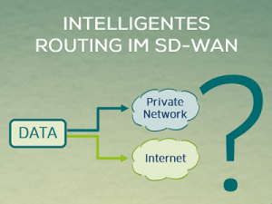 Intelligentes Routing im SD-WAN