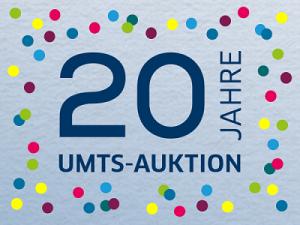 20 Jahre UMTS-Auktion
