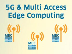 Multi Access Edge Computing verarbeitet Daten direkt am Ort des Geschehens, zum Beispiel am 5G-Mobilfunkmast.